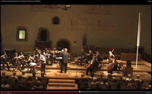 21. 06. 2011: Massenet – Meditation, housle Pavel Šporcl