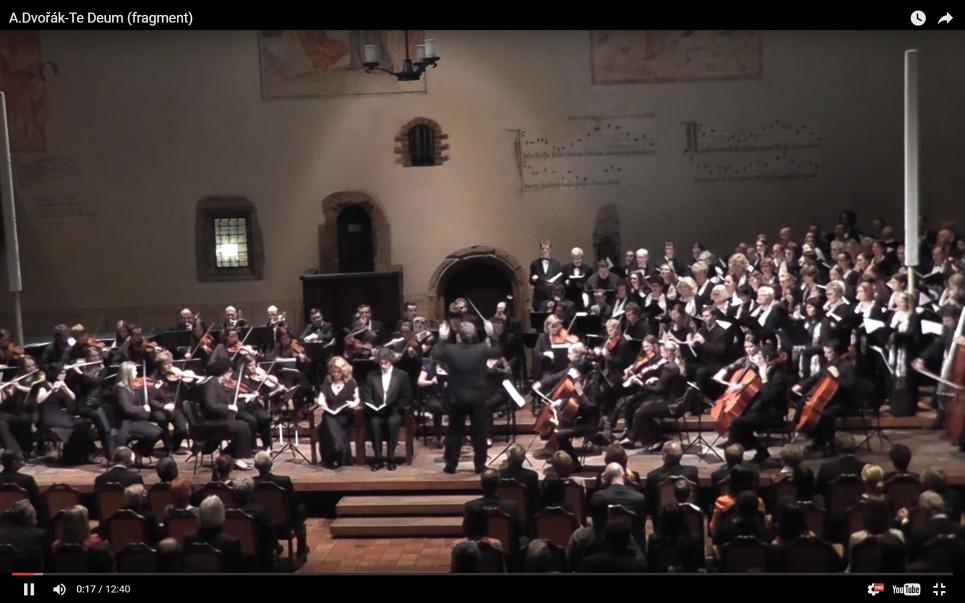 10. 12. 2013: Vánoční koncert, Antonín Dvořák – Te Deum, op.103
