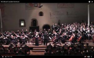 10. 12. 2013: Vánoční koncert, W. A. Mozart – Laudate Dominum